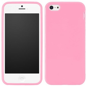 coque silicone iphone 5c rose. Black Bedroom Furniture Sets. Home Design Ideas